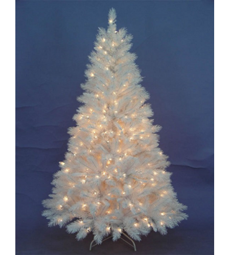1.8 METER NEBRAS WHITE TREE- 921 TIPS, ROUND PVC TIPS