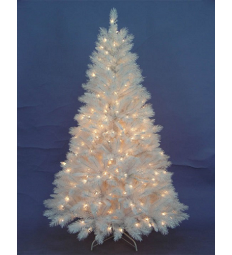 1.8 Meter WHITE IRIDESCENT TREE