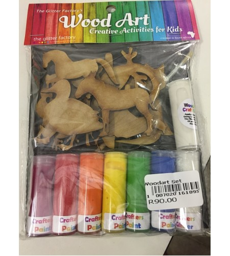 WOOD ART SET