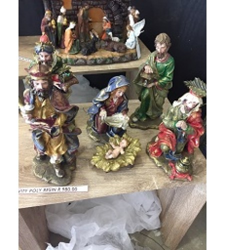 6 PIECE NATIVITY