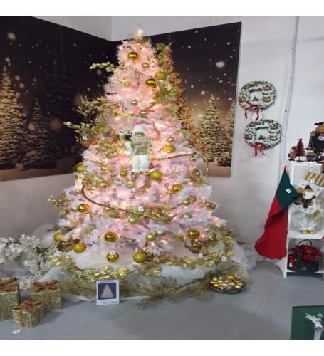 White Iridescent Tree